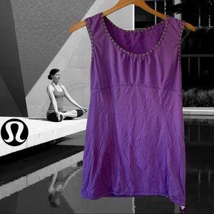 Lululemon Tank Top Muscle Shirt Purple Small Run